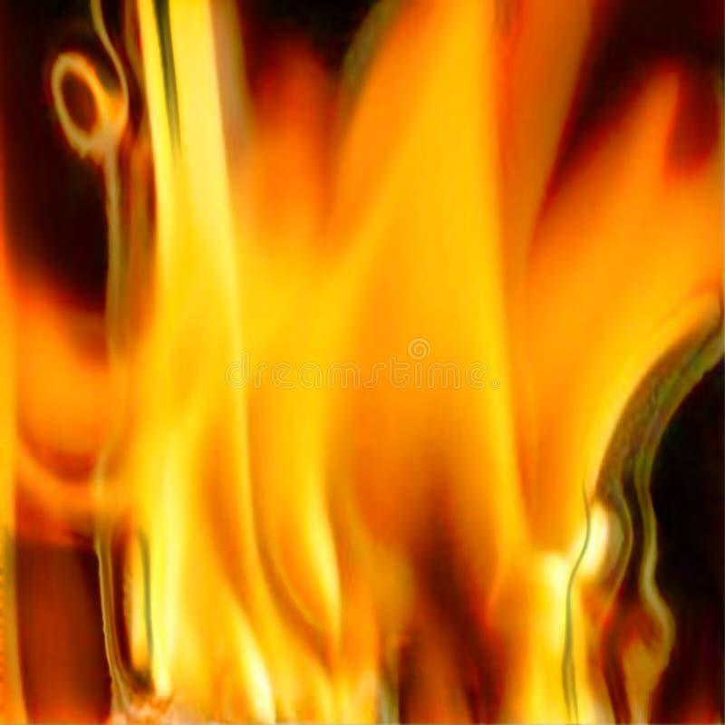 Textura abstracta del fuego foto de archivo libre de regalías