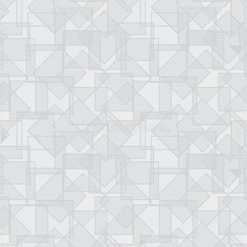 Textura abstracta del vector - cuadrados que solapan stock de ilustración