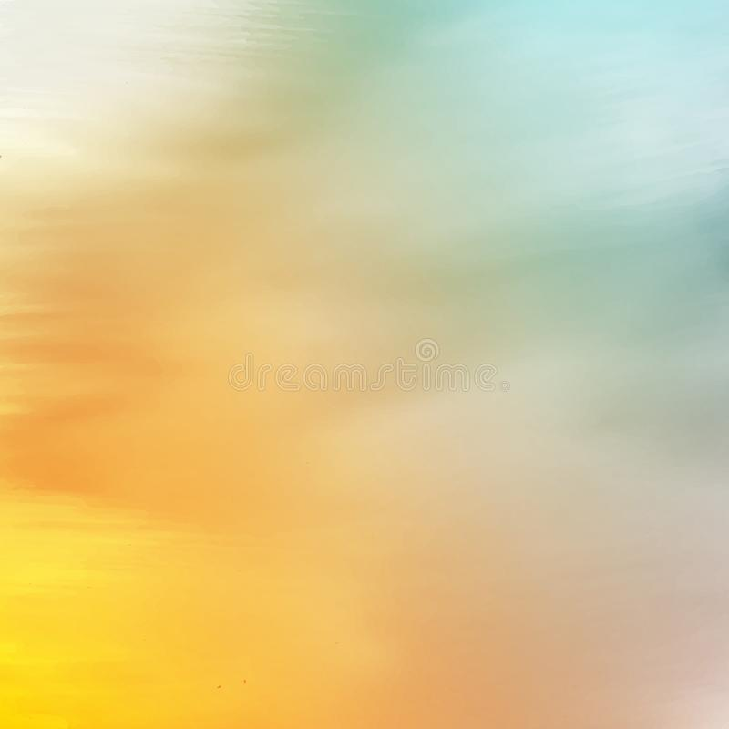 Textura abstracta del Watercolour stock de ilustración
