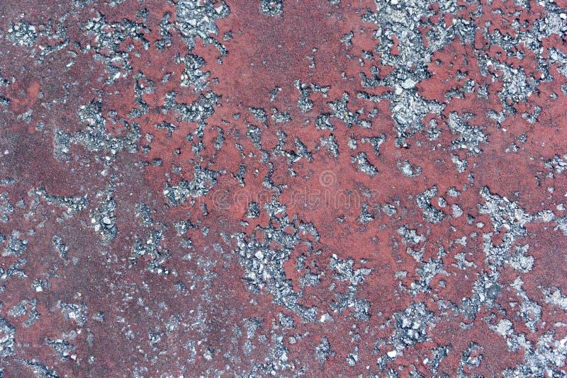 Textura abstracta en el hormigón, creando dos diversos colores imagen de archivo
