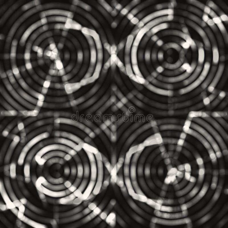 Textura abstracta monocromática de la capa del bokeh imagen de archivo libre de regalías