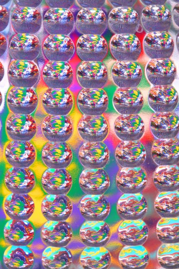 Textura Abstracta Plástica Imagen de archivo