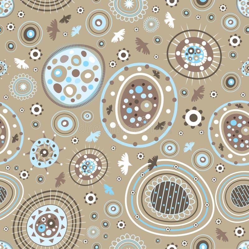Textura abstrata ilustração stock