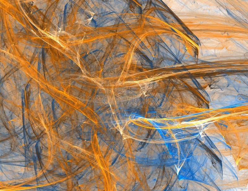 A textura abstrata da cor ilustração royalty free