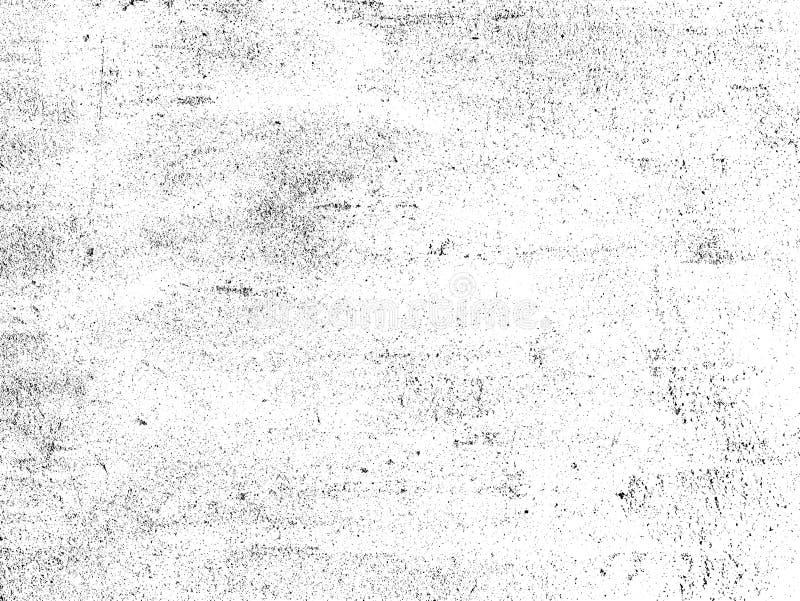 Textura abstrata da partícula de poeira e da grão de poeira no fundo branco, ilustração stock