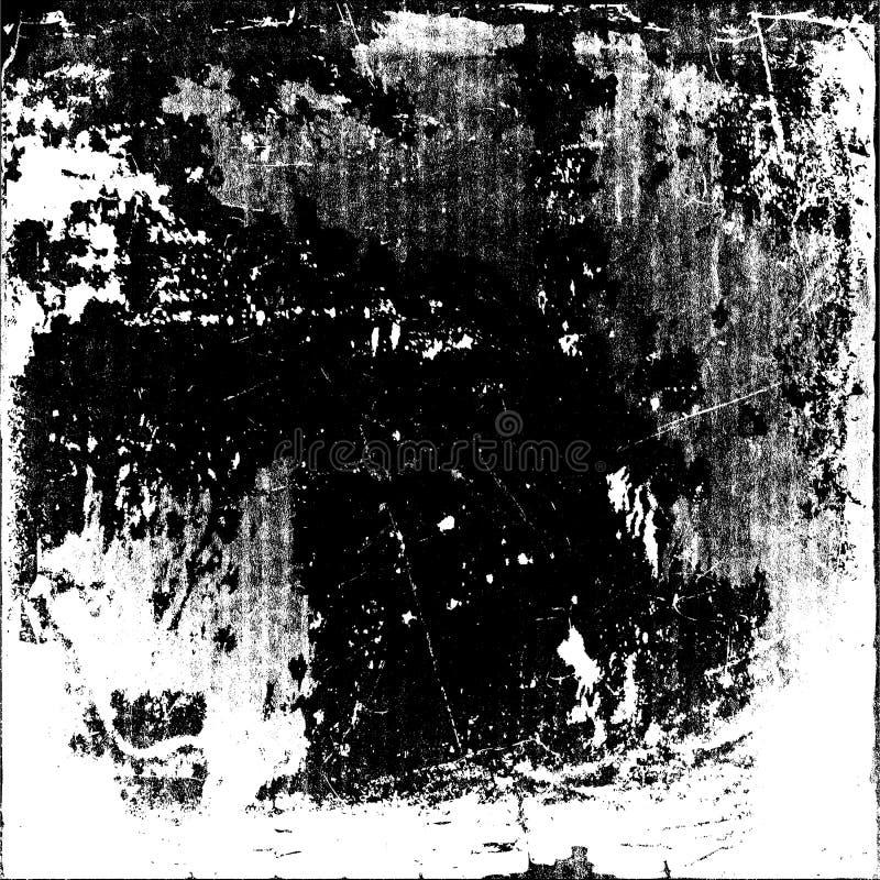 Textura abstrata da partícula de poeira e da grão de poeira no fundo branco, ilustração royalty free