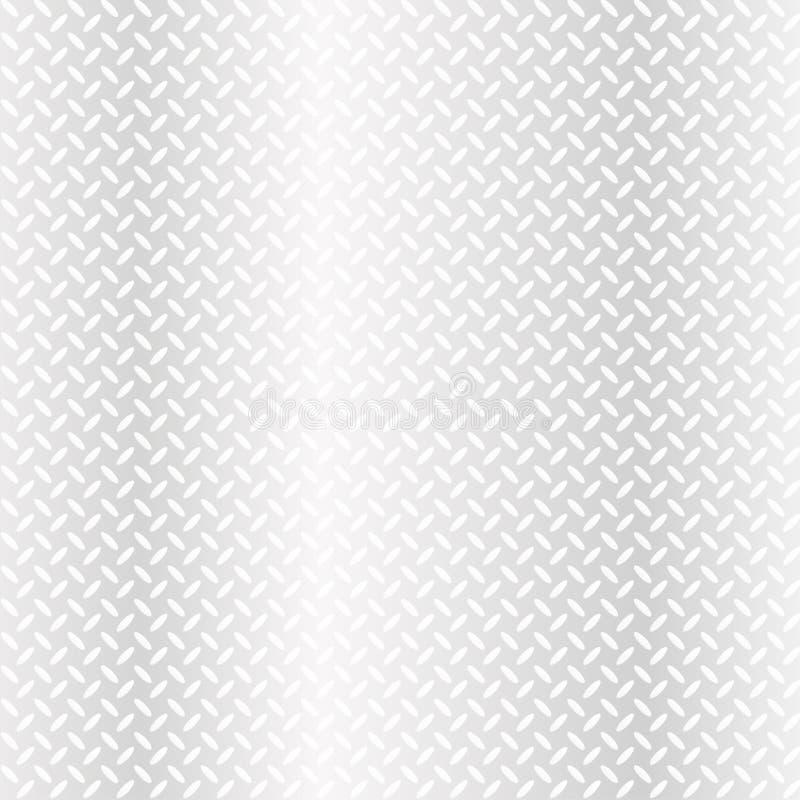 Textura abstrata do branco da folha de metal do vetor ilustração do vetor