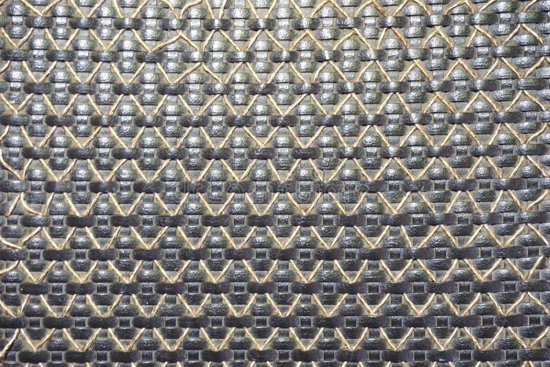 Textura abstrata do weave fotografia de stock