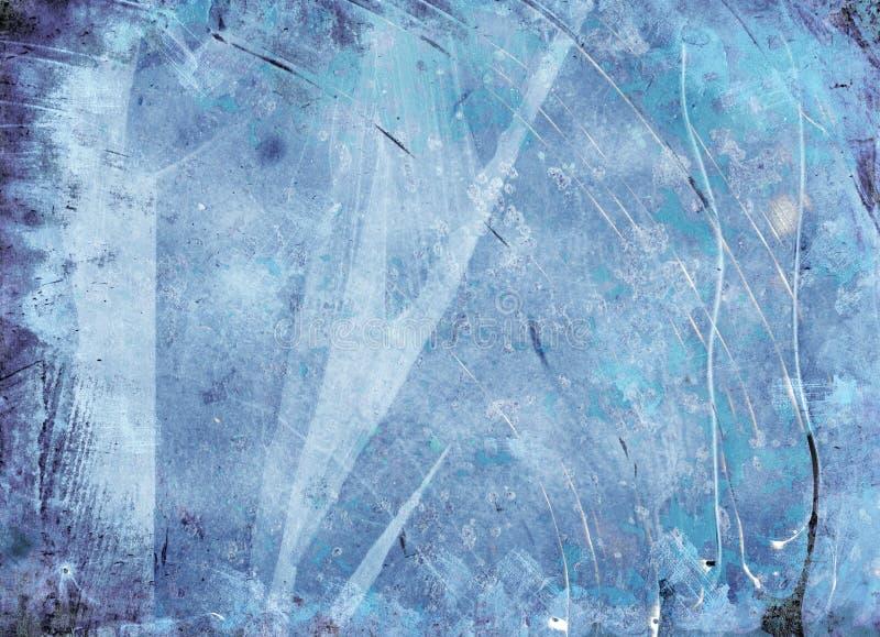 Textura abstrata gelada do fundo do grunge fotografia de stock royalty free