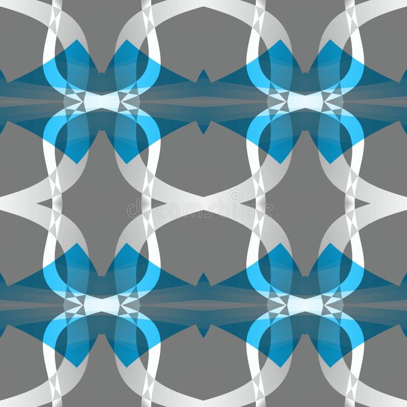 Textura abstrata moderna branca azul cinzenta Ilustração simples do fundo Amostra home do projeto da tela da decoração Teste padr ilustração do vetor