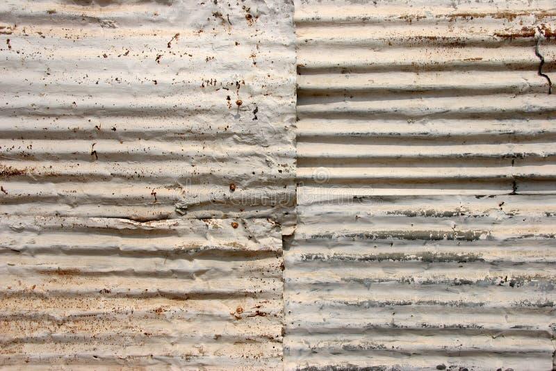 Textura acanalada de la azotea imagen de archivo