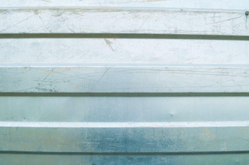 Textura acanalada del metal del cinc Fondo de la textura del metal de Grunge imagen de archivo libre de regalías