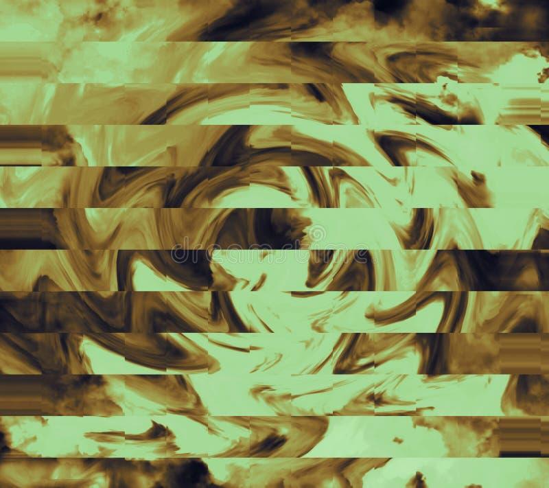 Textura acrílica abstrata de mármore Papel de parede com superfície pintada grossa Arte textured da pedra Fundo da fantasia ilustração stock