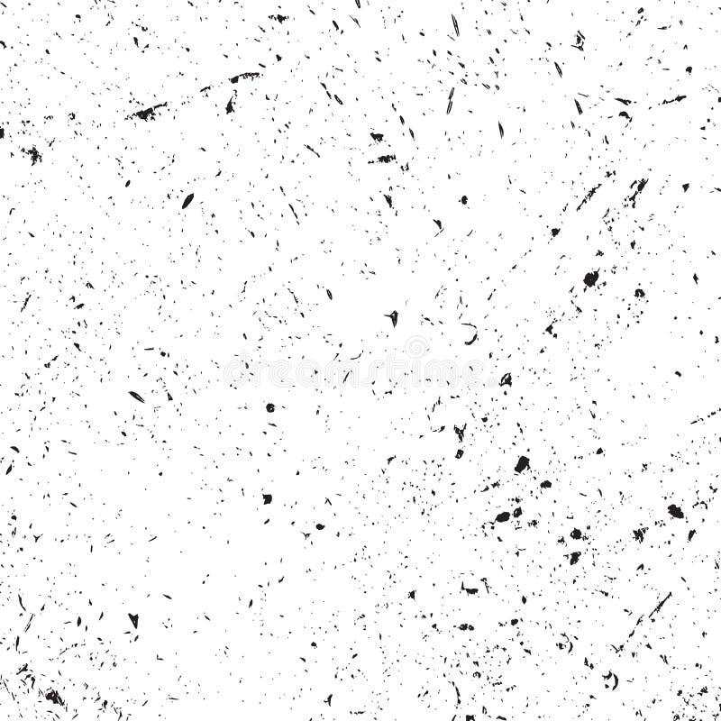 Textura afligida da folha de prova ilustração do vetor