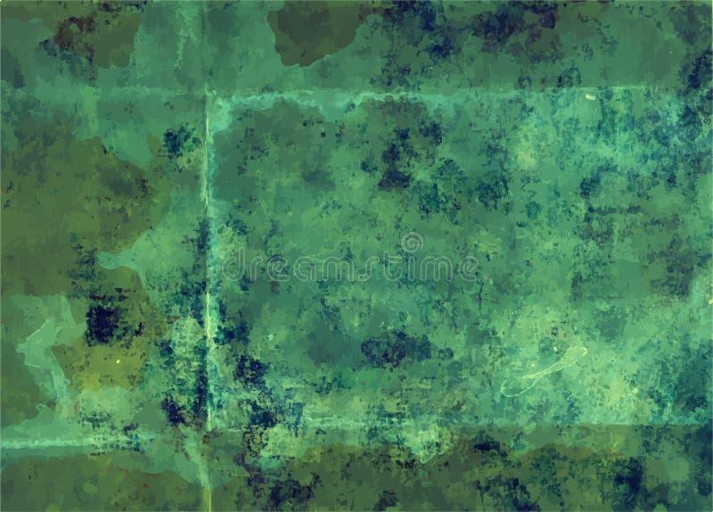 Textura afligida retro de Art Style Editable Vintage Style do fundo do vetor do Grunge Grande contexto do elemento do projeto par ilustração do vetor
