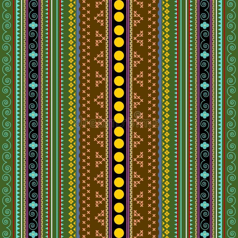 Textura africana ilustração stock
