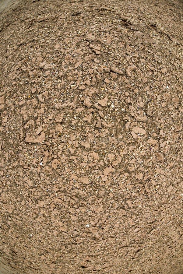 Textura agrietada del fango del gas geotérmico en la tierra fotos de archivo libres de regalías