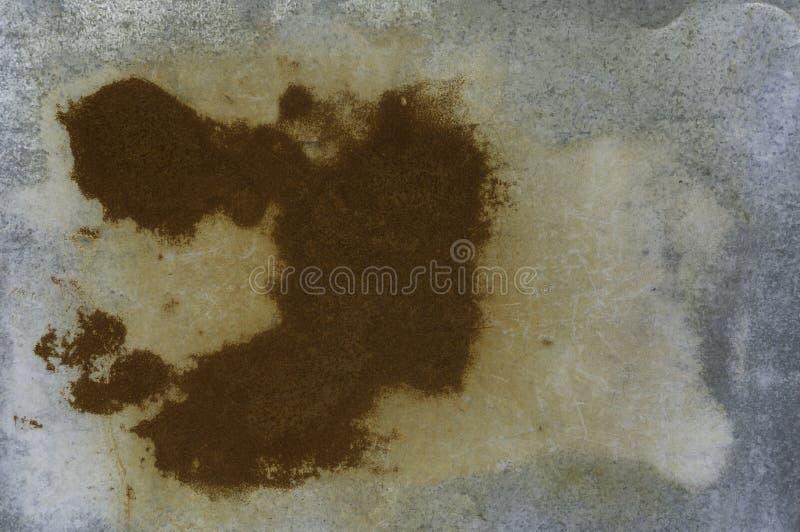 Textura aherrumbrada del metal, viejo fondo y textura del moho del hierro del metal imagen de archivo libre de regalías