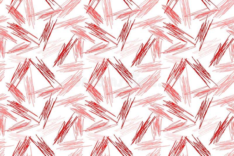 Textura al azar inconsútil del modelo que garabatea libre illustration