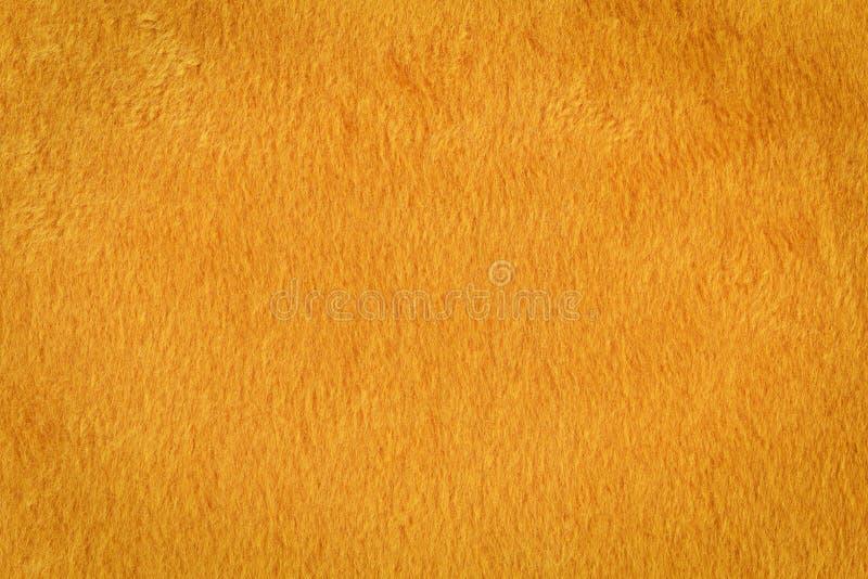 Textura alaranjada da pele artificial imagens de stock