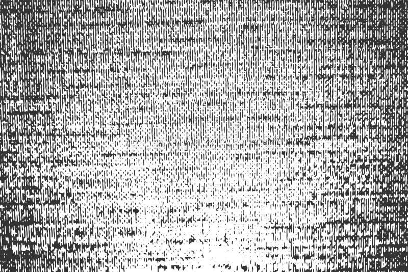 Textura alineada granosa del vector horizontal negro ilustración del vector