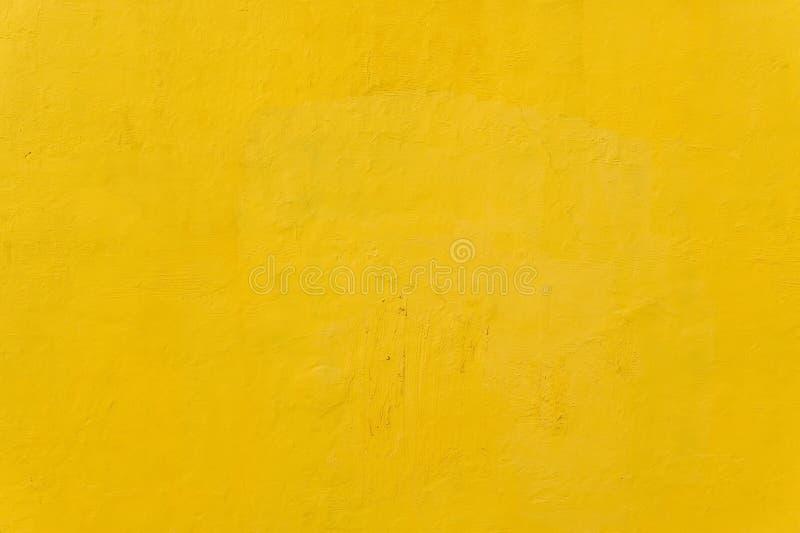 Textura amarela da parede seca fotos de stock
