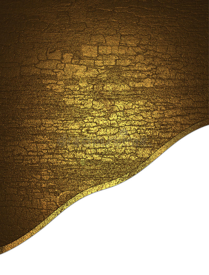Textura amarilla agrietada stock de ilustración