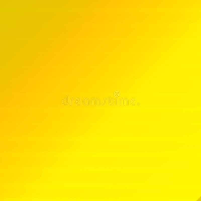 Textura amarilla clara del fondo de la pendiente ilustración del vector