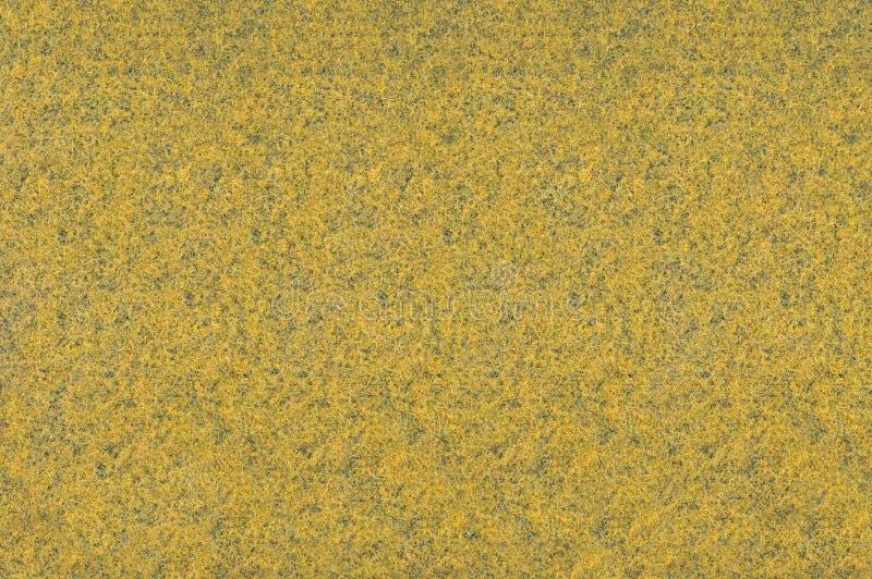 Textura amarilla de la alfombra imágenes de archivo libres de regalías