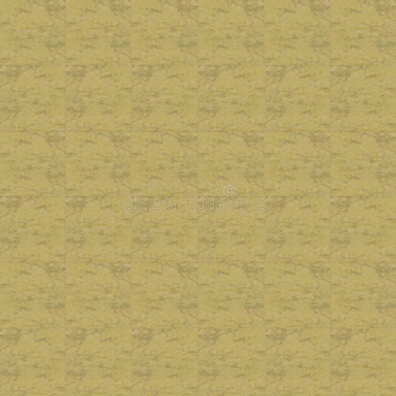 Textura amarilla de la teja libre illustration