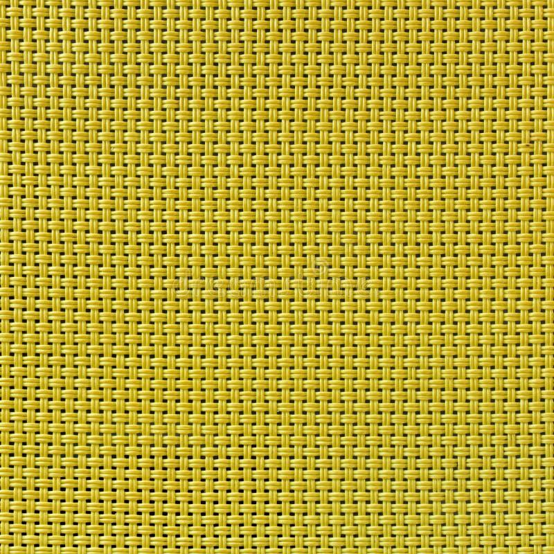 Textura amarilla inconsútil de la estera imagenes de archivo