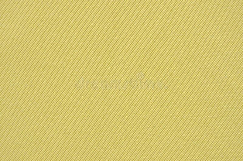 Textura amarilla llana de la tela imagen de archivo libre de regalías