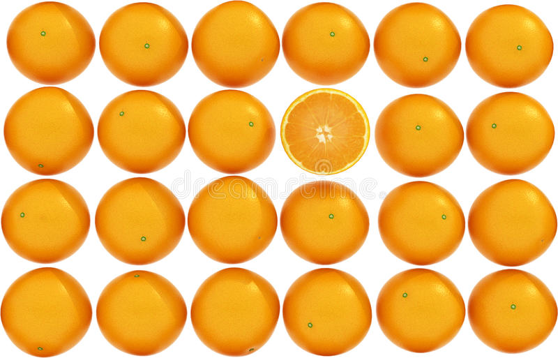 Textura anaranjada imagenes de archivo