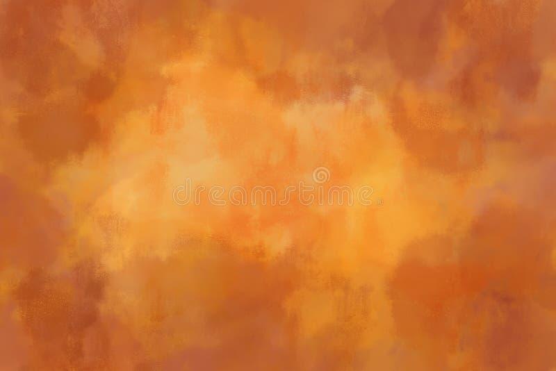 Textura anaranjada abigarrada del fondo fotografía de archivo libre de regalías