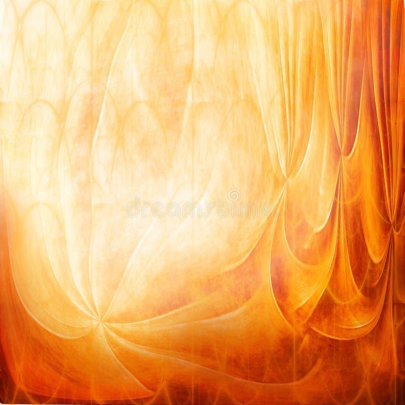 Textura anaranjada del grunge ilustración del vector