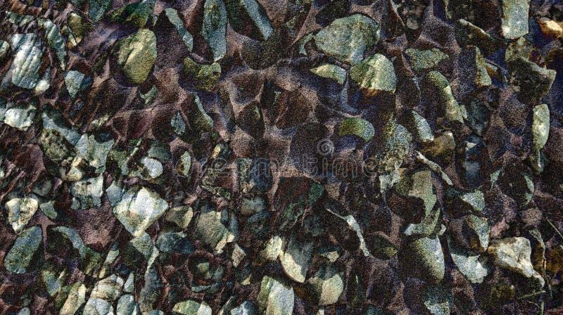 Textura animada de la piedra del estilo de la piedra del extracto con el papel pintado del fondo fotografía de archivo libre de regalías