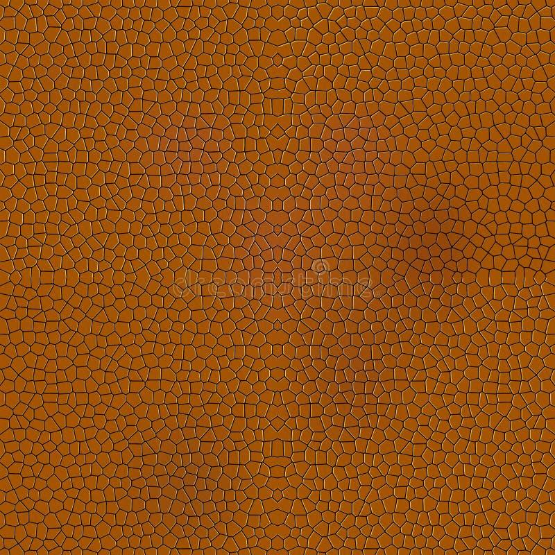 Textura animal de couro ilustração royalty free