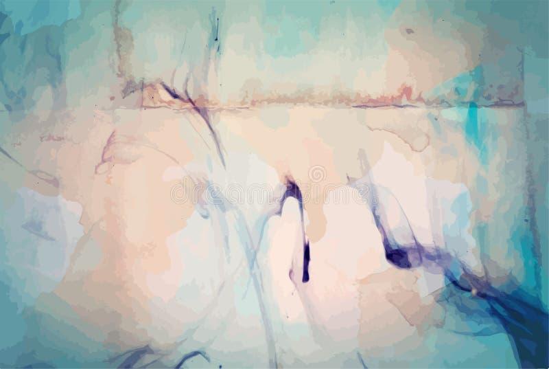 Textura apenada retra de Art Style Editable Vintage Style del fondo del vector del Grunge Gran contexto del elemento del diseño p libre illustration