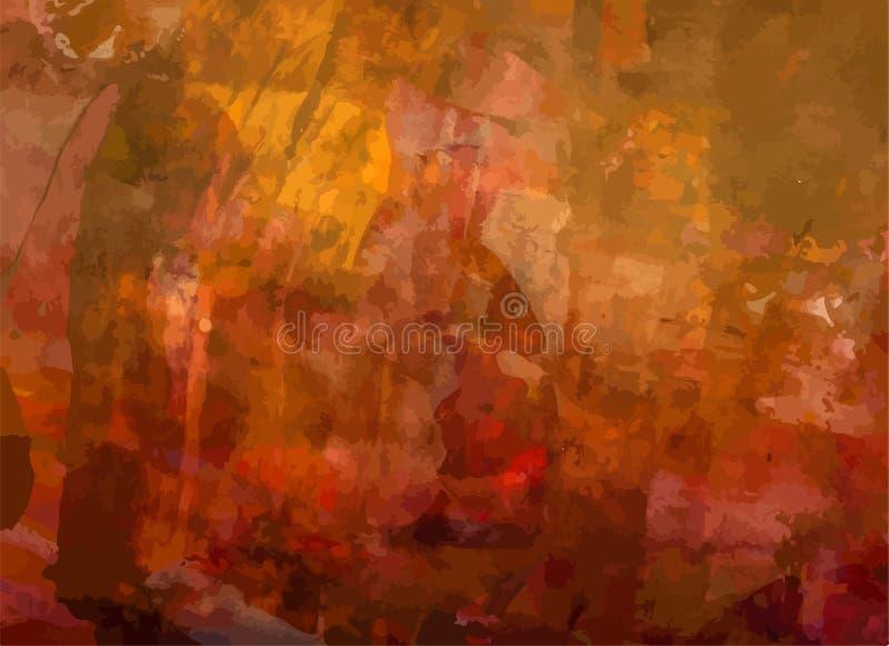 Textura apenada retra de Art Style Editable Vintage Style del fondo del vector del Grunge Gran contexto del elemento del diseño p stock de ilustración