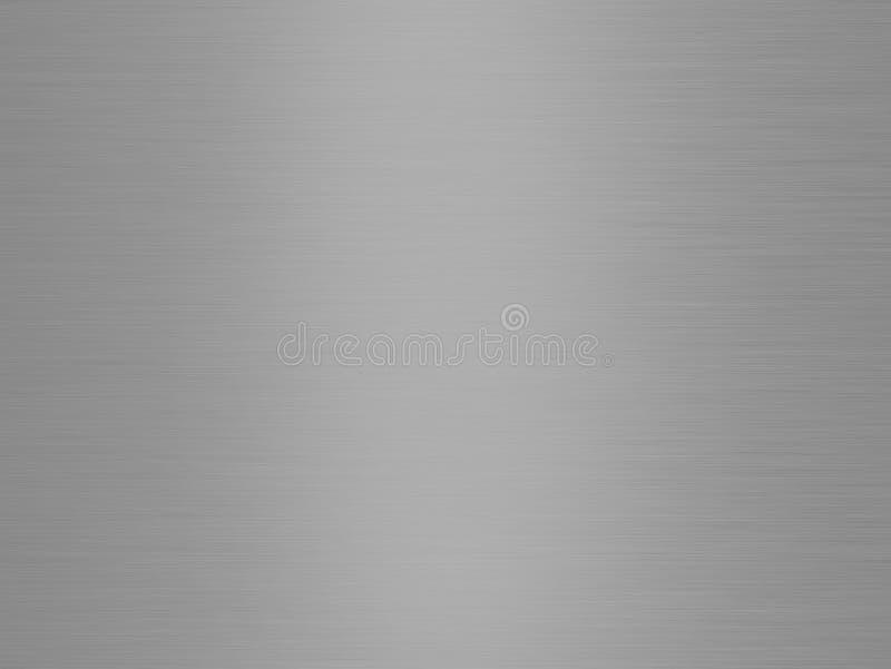 Textura aplicada con brocha del metal ilustración del vector