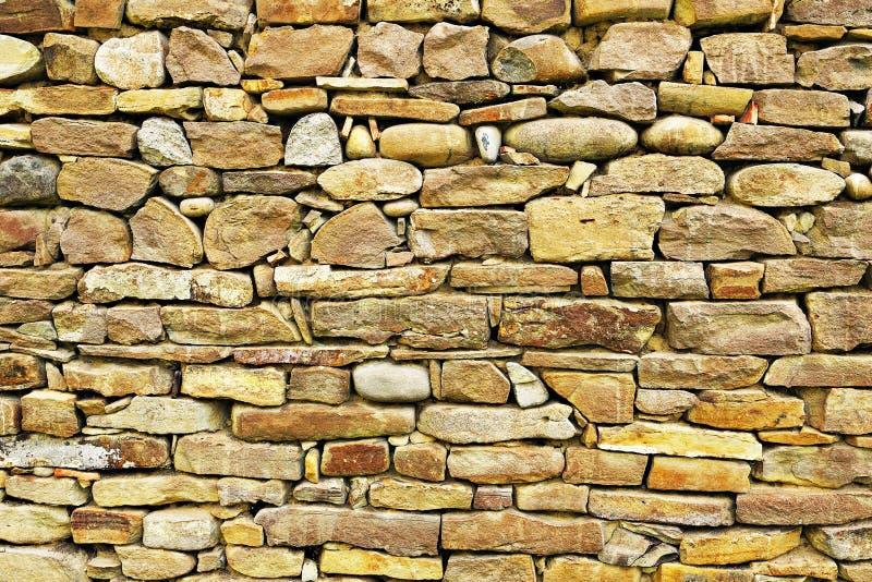 Textura arquitetónica da parede de pedra foto de stock