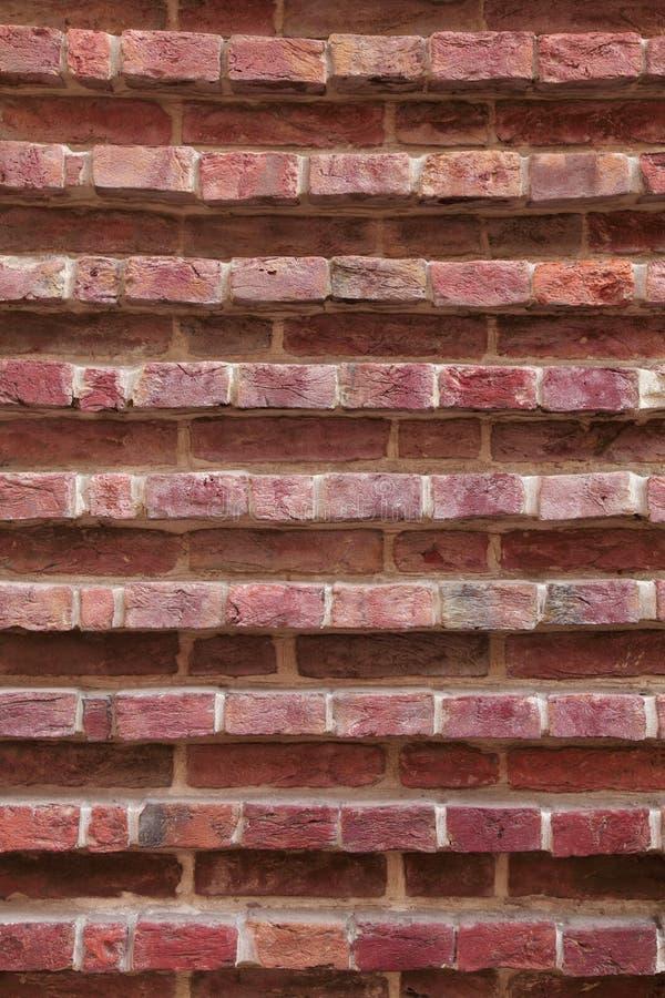 Textura arquitetónica do fundo da parede de tijolo fotografia de stock
