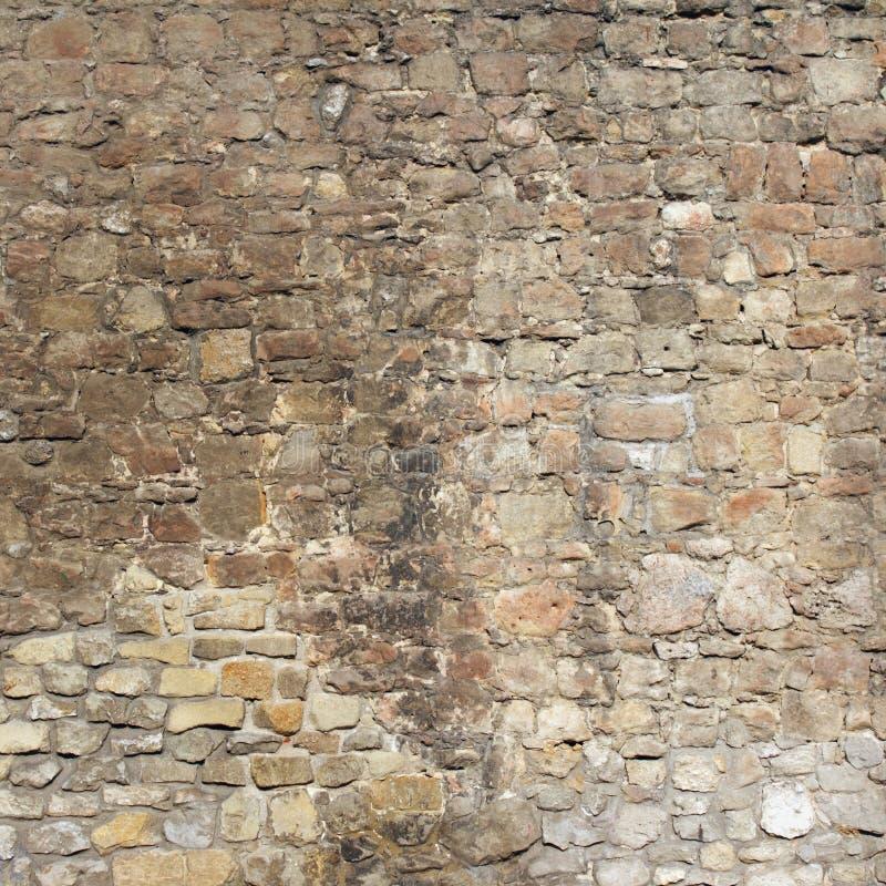 Textura arquitetónica do fundo da parede de tijolo (Jerusalém, Israel) imagens de stock