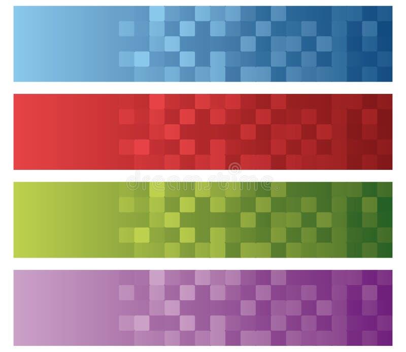 Textura arredondada dos quadrados ilustração royalty free