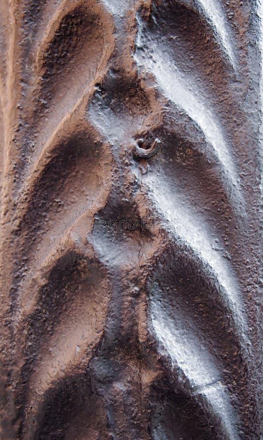 Textura artística del metal fotografía de archivo libre de regalías