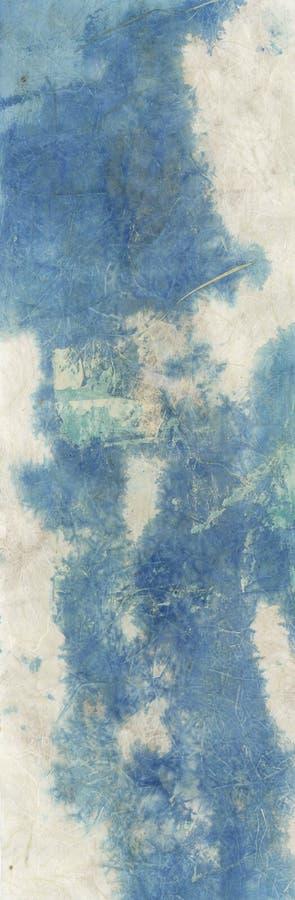 Textura azul abstracta de la mancha de óxido fotos de archivo libres de regalías