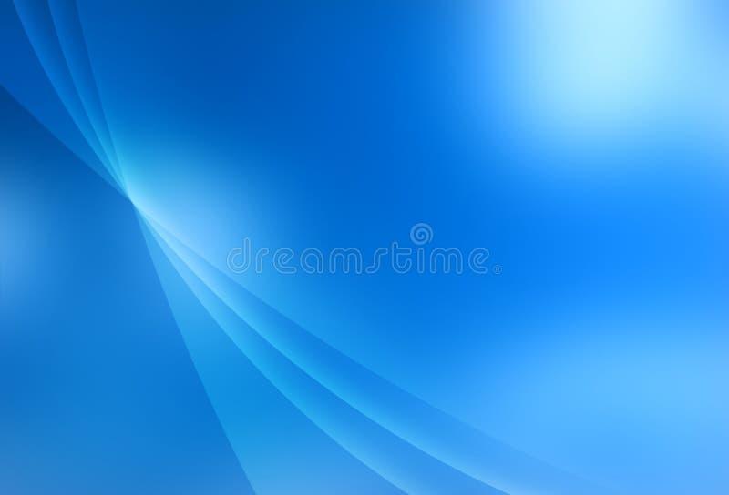 Textura azul abstrata ilustração royalty free
