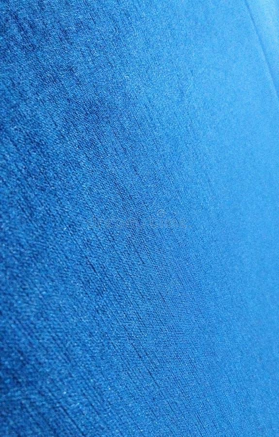 Textura azul bonita de pano da tampa do sofá imagem de stock royalty free