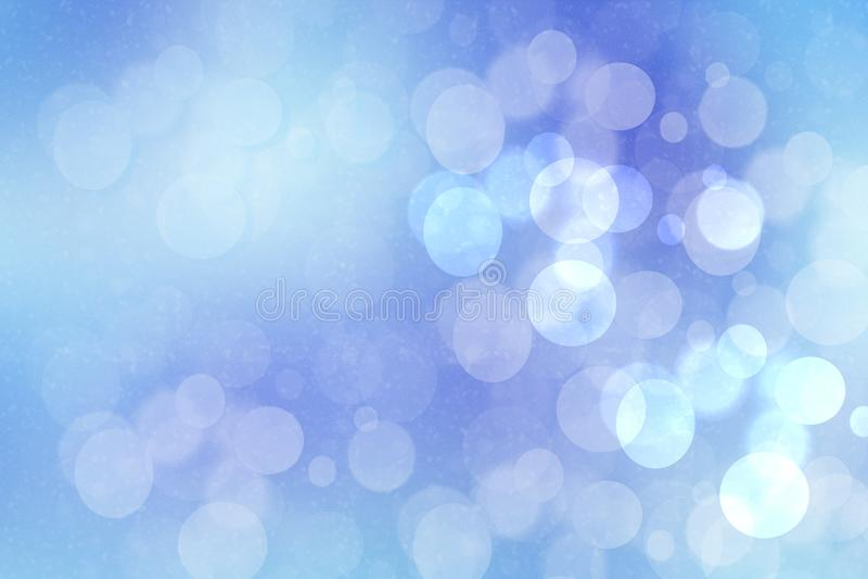 Textura azul borrada sumário do fundo do bokeh de turquesa do inclinação pastel delicado claro vívido fresco do verão da mola com fotografia de stock royalty free