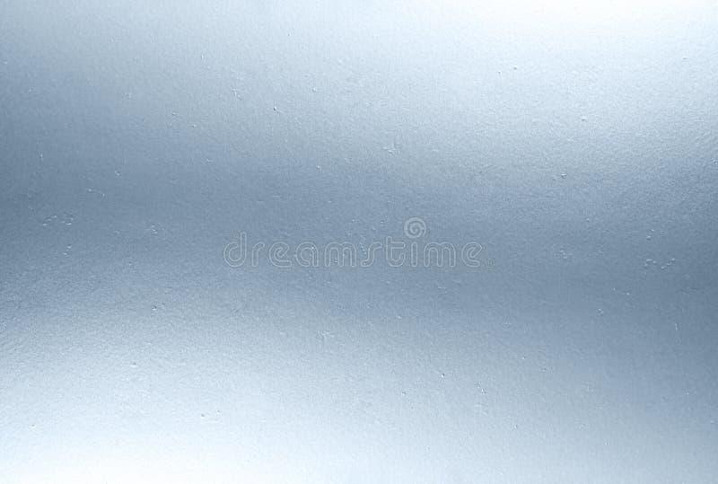 Textura azul brilhante do metal fotografia de stock